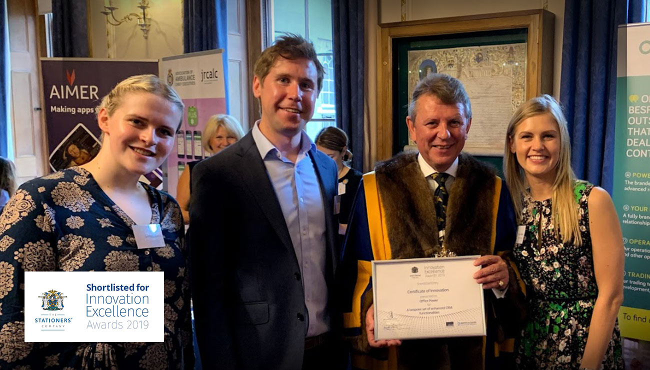 Stationers certificate of Innovation